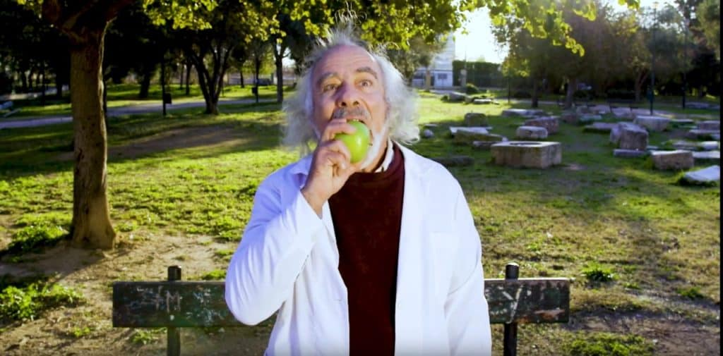 Newton Discovers Apple Chips