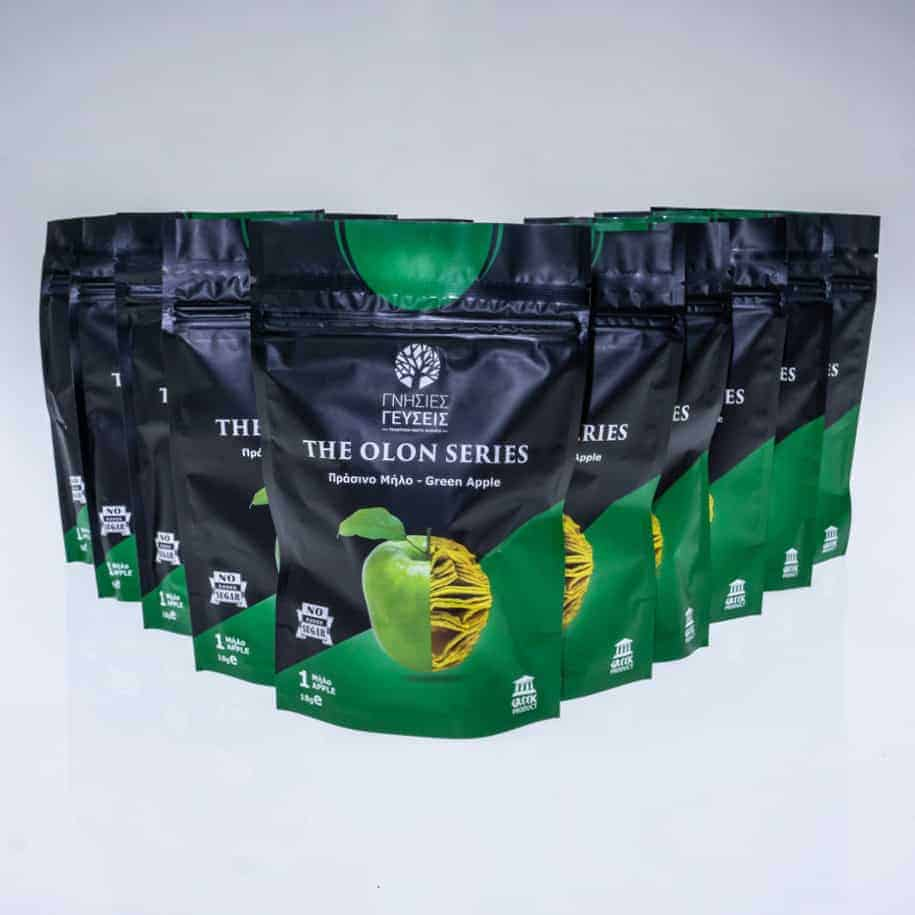 photo 5pcs olon green chips