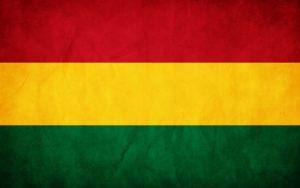 Reggae flag